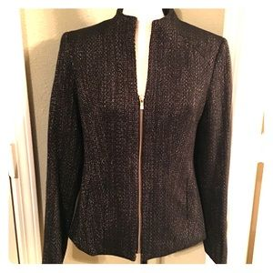 Jones New York collection tweed blazer 4